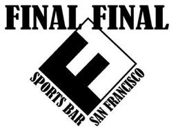 FF FINAL FINAL SPORTS BAR SAN FRANCISCO
