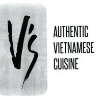 V'S AUTHENTIC VIETNAMESE CUISINE