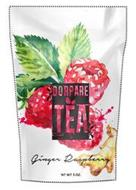 DORPARE TEA GINGER RASPBERRY