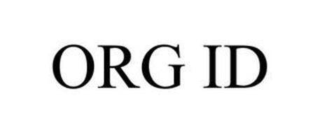 ORG ID