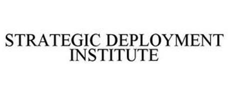 STRATEGY DEPLOYMENT INSTITUTE