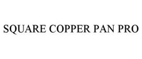 SQUARE COPPER PAN PRO
