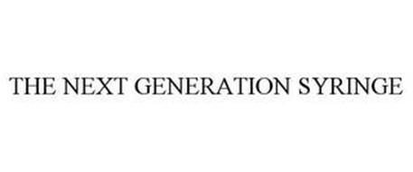 THE NEXT GENERATION SYRINGE