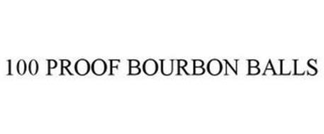 100 PROOF BOURBON BALLS