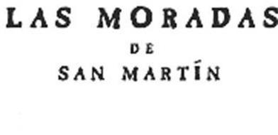 LAS MORADAS DE SAN MARTÍN