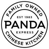 PANDA EXPRESS FAMILY OWNED CHINESE KITCHEN EST 1983