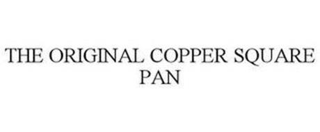 THE ORIGINAL COPPER SQUARE PAN