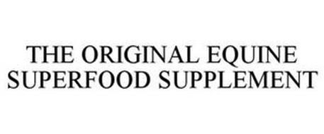 THE ORIGINAL EQUINE SUPERFOOD SUPPLEMENT