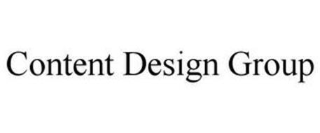 CONTENT DESIGN GROUP