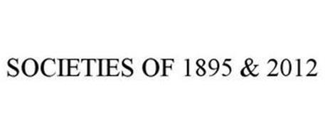 SOCIETIES OF 1895 & 2012