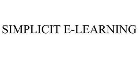 SIMPLICIT E-LEARNING