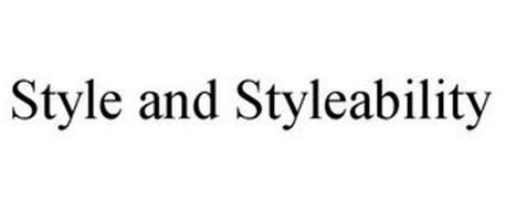 STYLE & STYLEABILITY