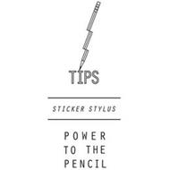 TIPS STICKER STYLUS POWER TO THE PENCIL