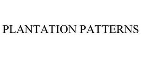 PLANTATION PATTERNS