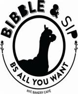 BIBBLE & SIP BS ALL YOU WANT NYC BAKERY CAFE