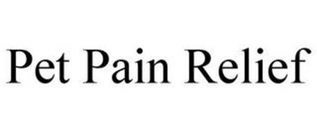 PET PAIN RELIEF