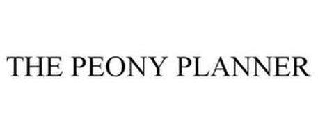 THE PEONY PLANNER