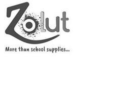 ZOLUT MORE THAN SCHOOL SUPPLLIES