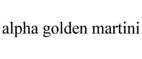 ALPHA GOLDEN MARTINI