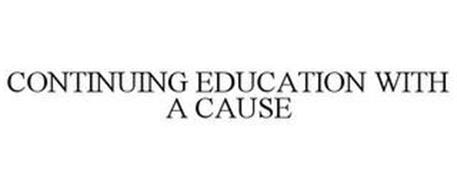 CONTINUING EDUCATION WITH A CAUSE