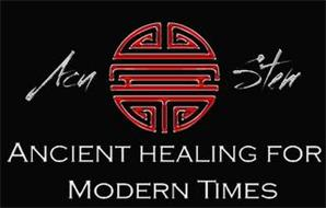ACU STEM ANCIENT HEALING FOR MODERN TIMES