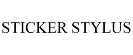 STICKER STYLUS