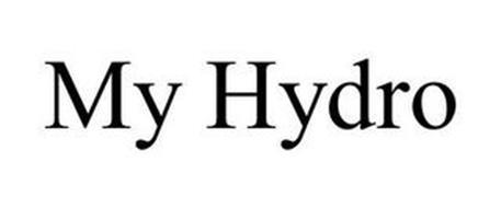 MY HYDRO