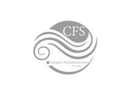 CFS COMPLETE FILTRATION SERVICES EST.2006