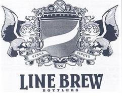 LINE BREW BOTTLERS SINCE DEPUIS 1997