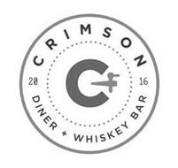 C CRIMSON DINER + WHISKEY BAR 2016