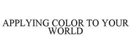 APPLYING COLOR TO YOUR WORLD