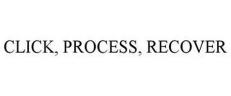 CLICK. PROCESS. RECOVER.