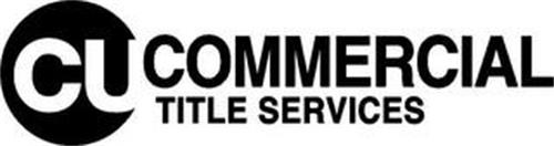CU COMMERCIAL TITLE SERVICES
