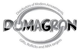 DOMAGRON DISTRIBUTIONS OF MODERN AMUSEMENTS, GIFTS, ROLLICKS AND NRA TARGETS