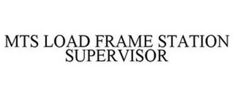 MTS LOAD FRAME STATION SUPERVISOR