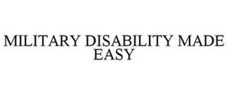 MILITARY DISABILITY MADE EASY