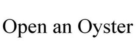 OPEN AN OYSTER