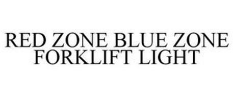 RED ZONE BLUE ZONE FORKLIFT LIGHT