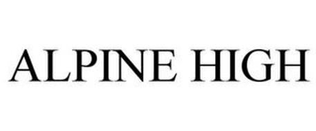 ALPINE HIGH