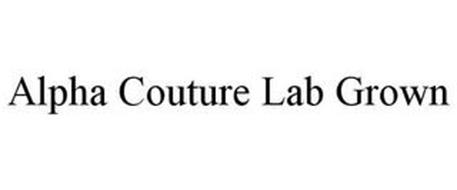 ALPHA COUTURE LAB GROWN
