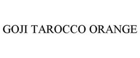 GOJI TAROCCO ORANGE