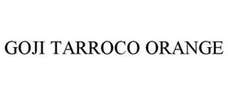 GOJI TARROCO ORANGE