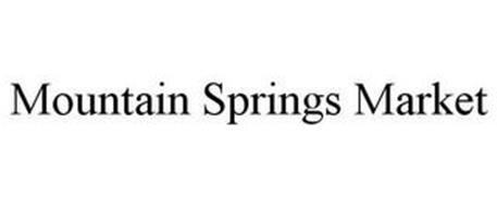 MOUNTAIN SPRINGS MARKET