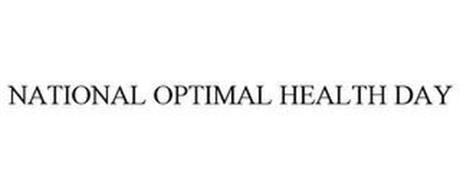 NATIONAL OPTIMAL HEALTH DAY