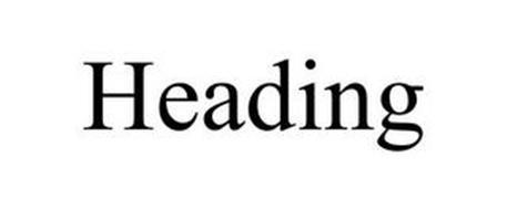 HEADING