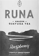 RUNA AMAZON GUAYUSA TEA RASPBERRY LIGHTLY SWEETENED