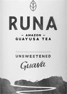 RUNA AMAZON GUAYUSA TEA UNSWEETENED GUAVA