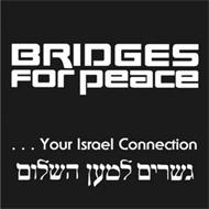 BRIDGES FOR PEACE...YOUR ISRAEL CONNECTION [HEBREW CHARACTERS]