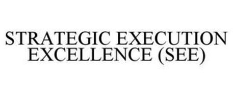 STRATEGIC EXECUTION EXCELLENCE (SEE)