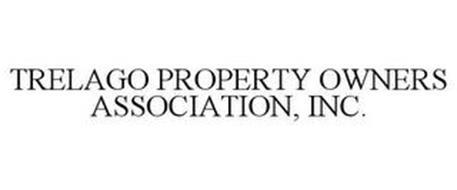 TRELAGO PROPERTY OWNERS ASSOCIATION, INC.